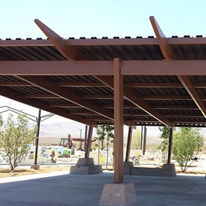 Mountains Edge Steel Staining Project by Natina