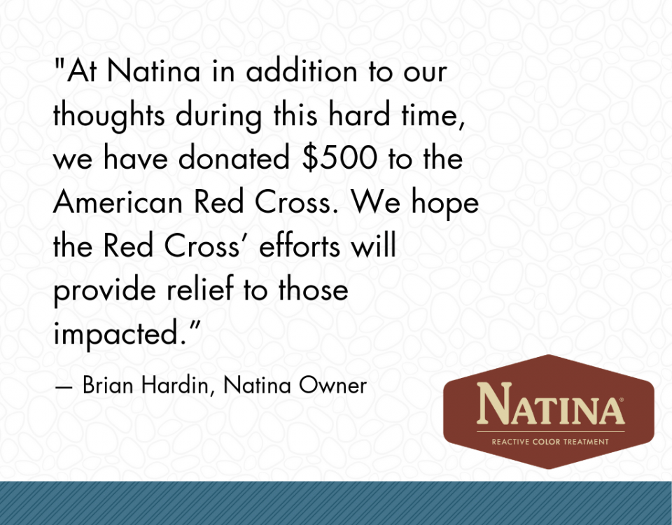 Brian Hardin, Natina owner, quote about the tragic wildfires in California